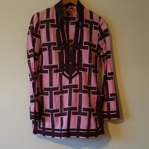 Tory burch tunic top